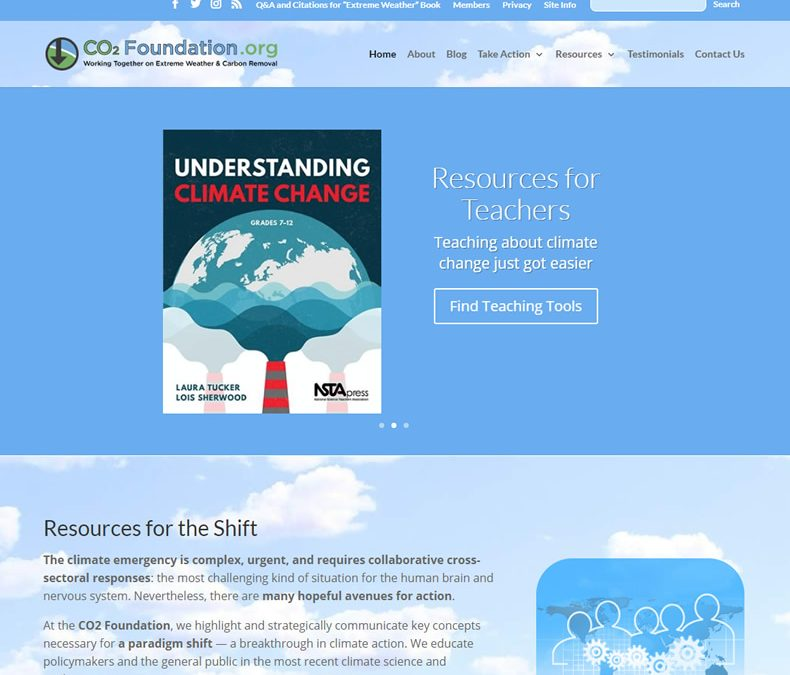 CO2 Foundation Website