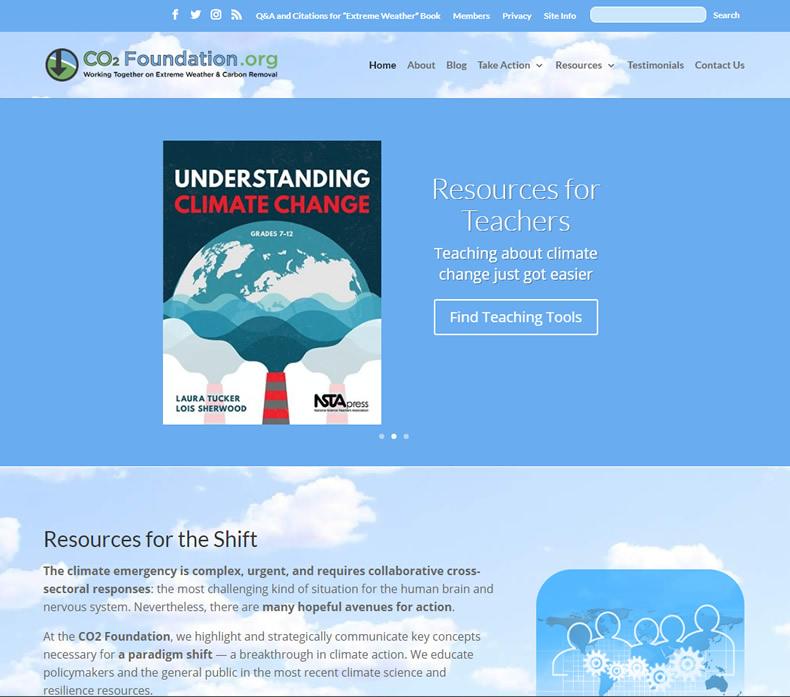 CO2 Foundation Website